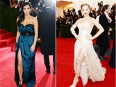 Met Gala 'whoops': Kim, Rita flash more skin than intended
