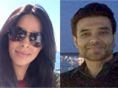 Uday Chopra, Mallika Sherawat arrive at Cannes