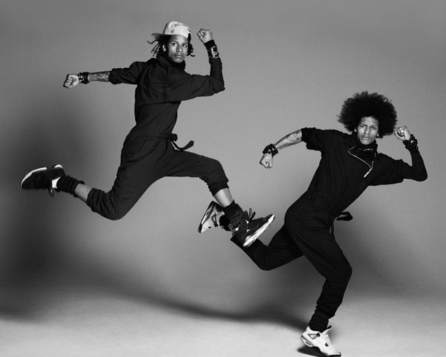 Dancing duo, Les Twins