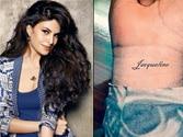 Jacqueline Fernandez's fan tattoos her name on wrist