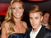 Justin Bieber was not touching me there: Heidi Klum