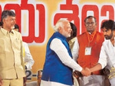 'Modi for PM, Naidu for CM' slogan gains ground in Seemandhra