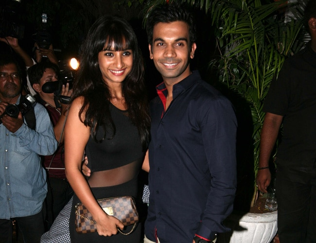Rajkummar Rao with girlfriend Anwita Paul