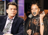 Charlie Sheen blasts Rihanna in Twitter rant. Find out why?