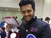 Riteish dedicates National Award to father Vilasrao Deshmukh