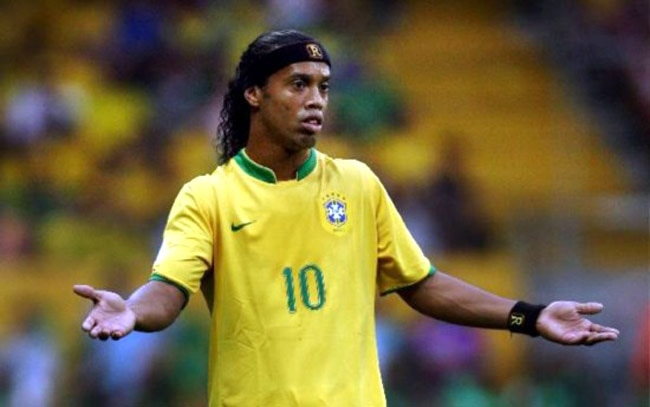 557accb7957 File photo of Brazilian soccer star Ronaldinho.