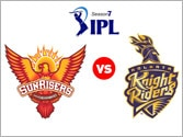 IPL 7, SRH vs KKR: Sunrisers Hyderabad vs Kolkata Knight Riders