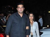 Is Vidya Balan trying hard to put rumours to rest?
