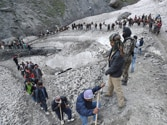 Amarnath Yatra begins from Baltal route amid tight security