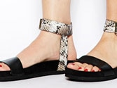 Try footbed sandals for comfort this summer
