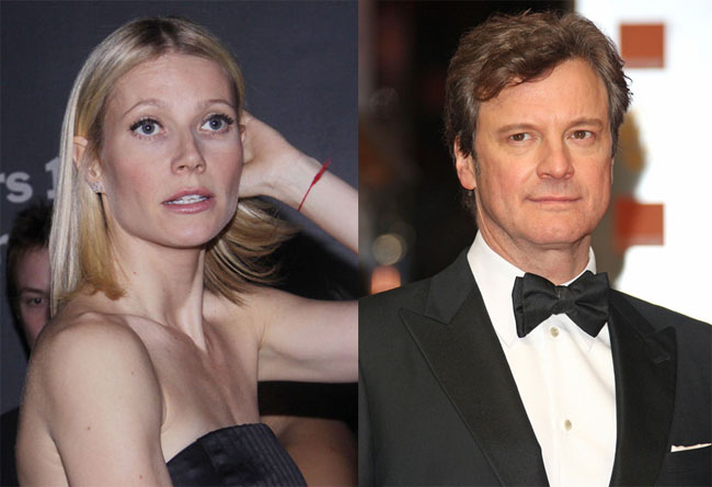 Gwyneth Paltrow annoyed with Colin Firth's 'conscious ...