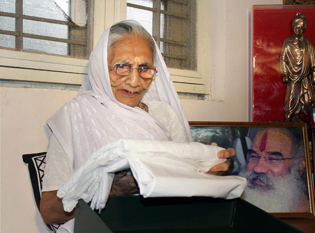 Narendra Modi's mother