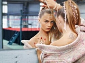 Cara Delevingne, the new face of Chanel