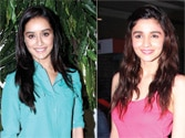 No rivalry here, Alia Bhatt congratulates Shraddha Kapoor