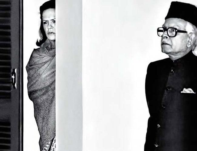 Sonia Gandhi and Natwar Singh