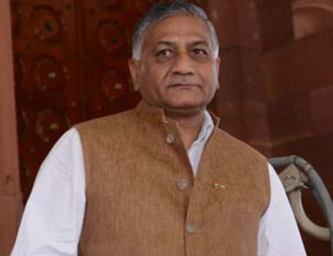 General (retired) V.K. Singh