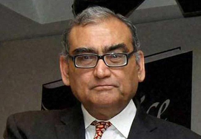 Former Supreme Court judge Markandey Katju