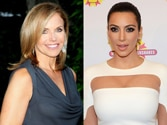 Kim Kardashian parties with Katie Couric
