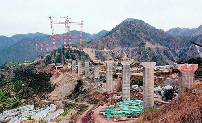 10 vital statistics of the world's tallest bridge in India