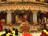 Sri Sathya Sai Baba's mission surmounts the crisis of credibility arising from his death over three years ago