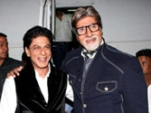 SRK awaits Big B's TV show Yudh, Amitabh Bachchan thanks him for wishes