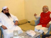 Ramdev aide's meet with Hafiz Saeed rocks Rajya Sabha