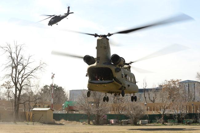 US military hardware