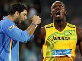 Cricket face-off! Sprint king Usain Bolt challenges Yuvraj Singh