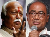 Digvijaya Singh compares RSS chief Mohan Bhagwat with Hitler