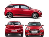 Characteristics of i20 Elite as a product, in comparison to Punto Evo and Polo