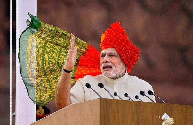 Narendra Modi on I-Day