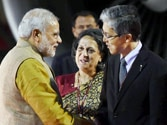 Modi reaches Tokyo to hold talks with Abe