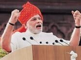 Modi strikes right notes