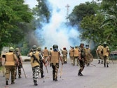 Army stages flag march in curfew-bound Golaghat