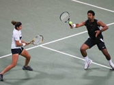 Sania Mirza, Leander Paes advance in US Open doubles event