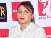 Rani unveils Mardaani anthem, says term women-centric 'strange'