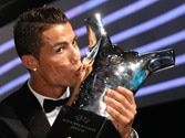 Cristiano Ronaldo clinches UEFA award for best player in Europe