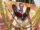 Fans garland Ajay Devgn in Singham Returns posters