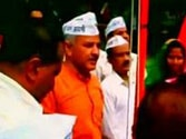 Sisodia hoists upside down flag