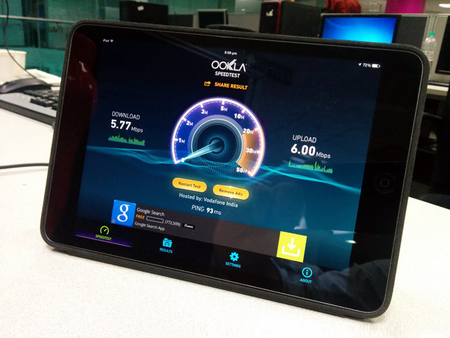 how to check download speed on phone