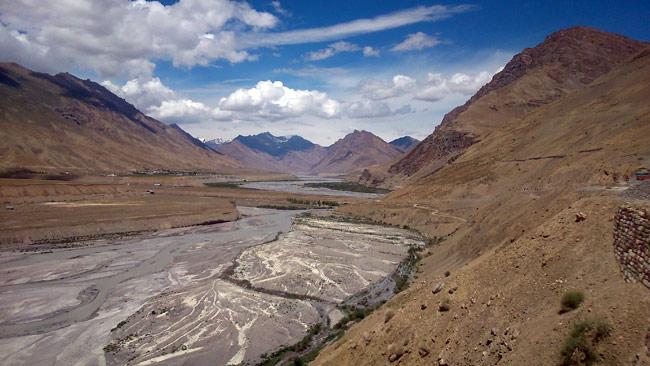 The Spiti river