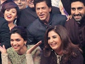 SRK goes online for Happy New Year's music launch