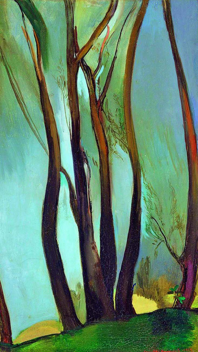 Amrita Sher-Gil's 'Trees'