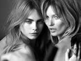 Kate Moss, Cara Delevingne new faces of Burberry's latest fragrance