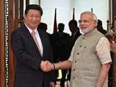 President Xi Jinping accorded grand welcome in Ahmedabad