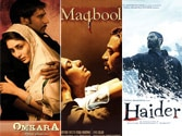 Now, books on Vishal Bhardwaj's Maqbool, Omkara, Haider