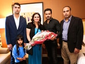 Emraan Hashmi meets his reel self in Toronto for real