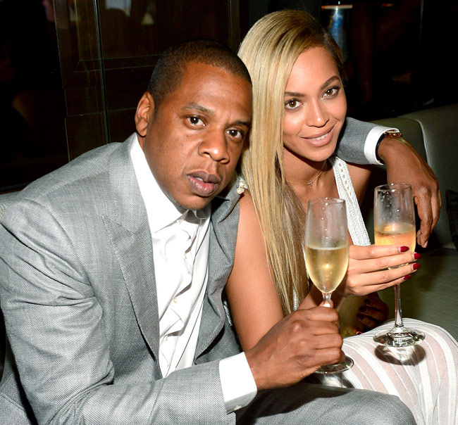 Beyonce Knowles and her husband-rapper Jay Z