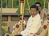 Xi Jinping, Modi stroll on Sabarmati riverfront
