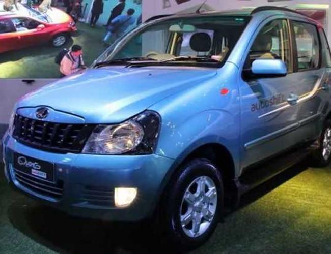 Mahindra Quanto AMT at 2014 Delhi Auto Expo